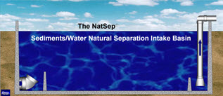 NatSep Sediment Separation